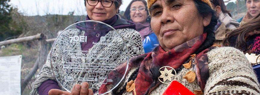 Wekimün recibe premio en educación por promover los DDHH